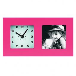 фото Часы с фоторамкой СТАРТ PHOTO. Цвет: розовый