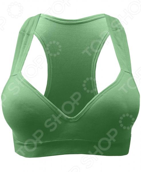 Топ корректирующий Burlesco Z105. Цвет: зеленый burlesco корректирующее белье для беременных