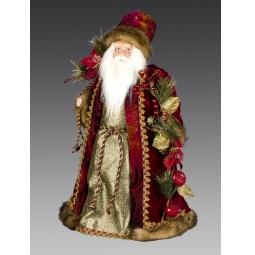 фото Игрушка новогодняя Holiday Classics «Дед Мороз с мешком подарков»