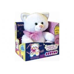 Купить Мягкая игрушка МАЛЫШИ Котик Светик
