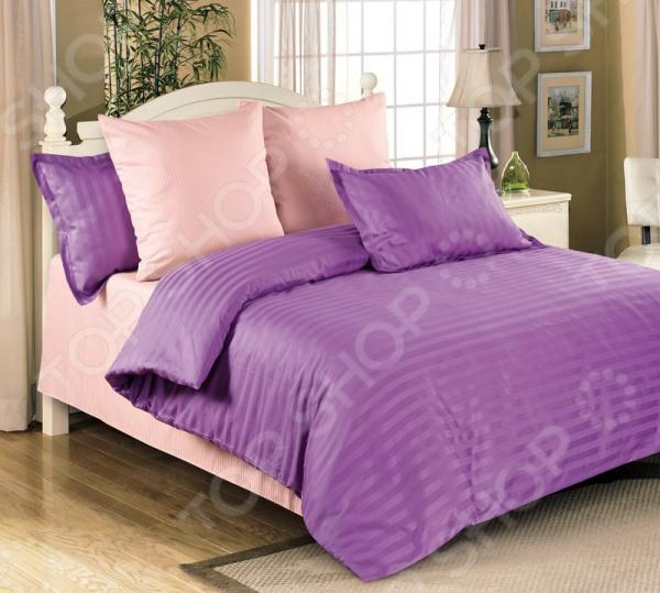 Комплект постельного белья Королевское Искушение «Аметист» комплекты белья linse комплект белья