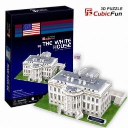 Купить Пазл 3D CubicFun «Белый дом»