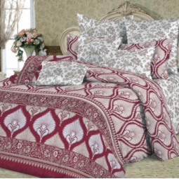 фото Комплект постельного белья Slava Zaitsev «Мейли». 1,5-спальный