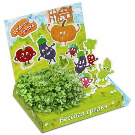 Купить Набор для выращивания Happy Plant «Веселая грядка»