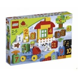 фото Конструктор LEGO Учимся считать вместе с ЛЕГО