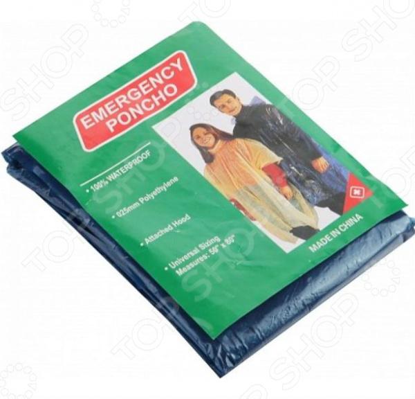 Дождевик Green Gema GCA1031Плащи-дождевики<br>Дождевик Green Gema GCA1031 хорошая альтернатива защите от дождя и брызг. В отличие от зонта, дождевик защищает вас с ног до головы, позволяя оставаться сухим даже в самый сильный ливень. Благодаря легкому и тонкому материалу изделия, плащ можно носить в собой в сумке, просто свернув его в маленький компактный сверток. Этот аксессуар может пригодится, если вы едите в страны с влажным климатом или обильными осадками. Изделие представляет собой водонепроницаемую верхнюю одежду, которую можно надевать, как поверх майки, так и поверх промокаемой куртки. Этот незаменимый гаджет предназначен для защиты от дождя и повышенной влажности. Данная модель выполнена из качественного полиэтилена синего цвета. Благодаря дизайну, дождевик имеет универсальный размер, подходящий всем.<br>
