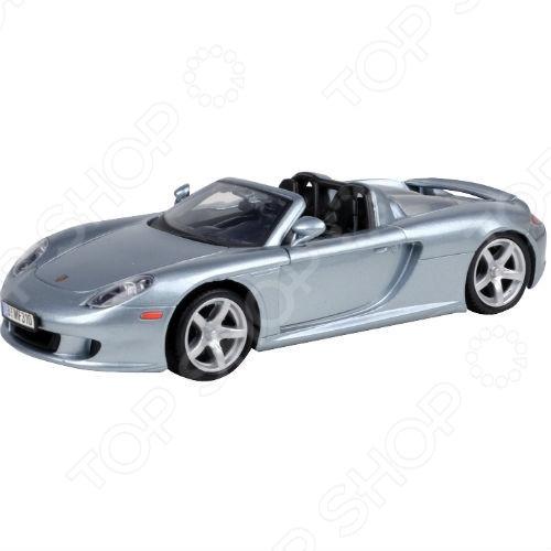 Модель автомобиля 1:24 Motormax Porsche Carrera GT uni fortunetoys модель автомобиля porsche cayenne turbo