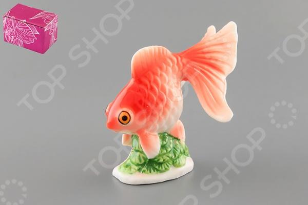 Фигурка декоративная Elan Gallery Золотая рыбка