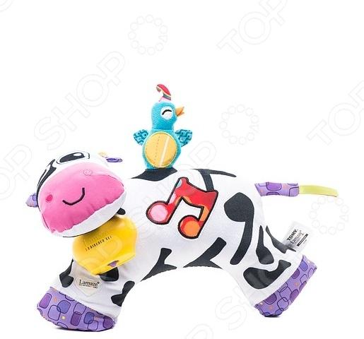 Игрушка музыкальная Tomy «Коровка» мягкие игрушки tomy музыкальная мягкая игрушка музыкальная коровка