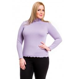 фото Водолазка Mondigo XL 1474. Цвет: сиреневый. Размер одежды: 48