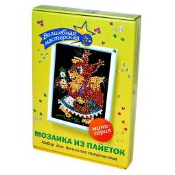 Купить Мозаика из пайеток Волшебная мастерская «Белочка» М013