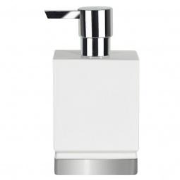фото Диспенсер для жидкого мыла Spirella Roma. Цвет: белый, серебристый