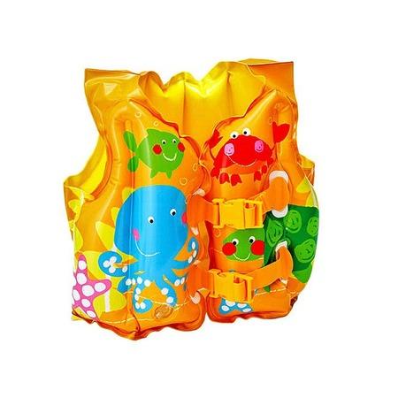 Купить Жилет надувной Intex 59661 «Веселые рыбки»