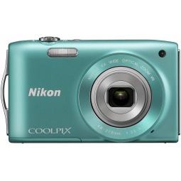 фото Фотокамера цифровая Nikon CoolPix S3300. Цвет: зеленый