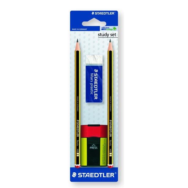 фото Набор карандашей с ластиком и точилкой Staedtler 120511BKD