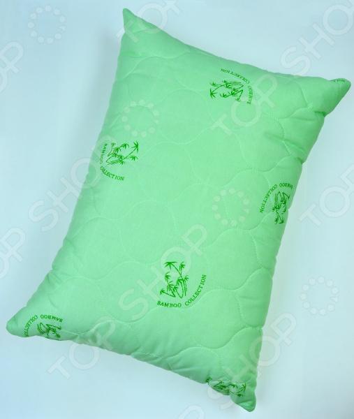 Подушка стеганая Tete-a-Tete «Бамбук»Классические подушки<br>Подушка стеганая Tete-a-Tete Бамбук отличная подушка, которая помогает бороться со стрессом. Подушка обеспечит оптимальную поддержку головы. Она неприхотлива в уходе, хорошо переносит чистку и быстро сохнет. Приятный цвет и высокое качество гарантирует, что атмосфера вашей спальни наполнится теплотой и уютом, а вы испытаете множество сладких мгновений спокойного сна. Подушка наполнена бамбуковым волокном, она мягкая и нежная на ощупь, а также имеет массу достоинств: антибактериальные свойства, хорошую воздухонепроницаемость, прочность, гигроскопичность, экологичность. Она прослужит долго, а ее изысканный внешний вид будет годами дарить вам уют.<br>