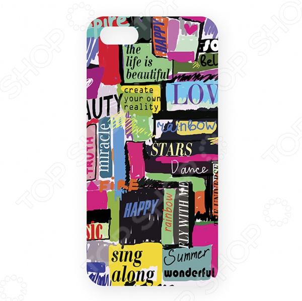 Чехол для iPhone 5 Mitya Veselkov «Жизнь прекрасна!» чехол для iphone 5 mitya veselkov жизнь прекрасна