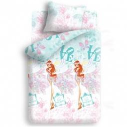 фото Детский комплект постельного белья Winx Fairy Couture Love