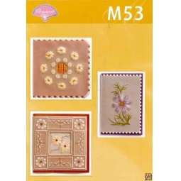 Купить Набор схем для парчмента Pergamano M53 Рисуем красками Tinta