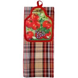 фото Комплект из полотенца и прихватки BONITA «Бонита-помидорита»