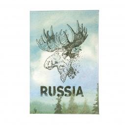 фото Обложка для паспорта Mitya Veselkov «Лось»