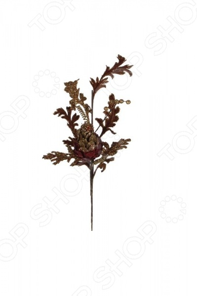 Украшение новогоднее Katherines Collection «Цветок на ветке»