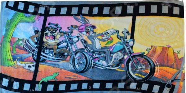 Полотенце махровое Мульткарнавал «Мотогонщики» мульткарнавал полотенце махровое фиксики нолик 40 см х 70 см