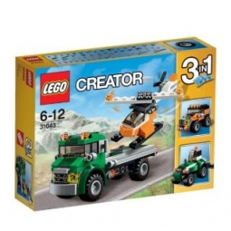 фото Конструктор-игрушка LEGO «Перевозчик вертолета»