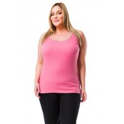 фото Майка Mondigo XL 8347. Цвет: темно-розовый. Размер одежды: 48