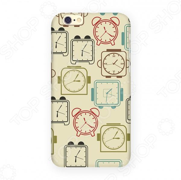 Чехол для iPhone 6 Mitya Veselkov «Будильники»