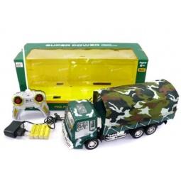 фото Машина на радиоуправлении Shantou Gepai «Грузовик военный» 627227