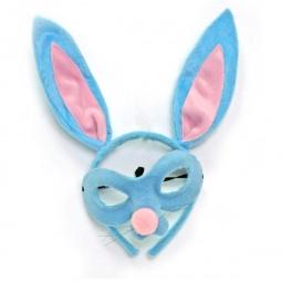 Купить Карнавальный ободок Зайчик с маской