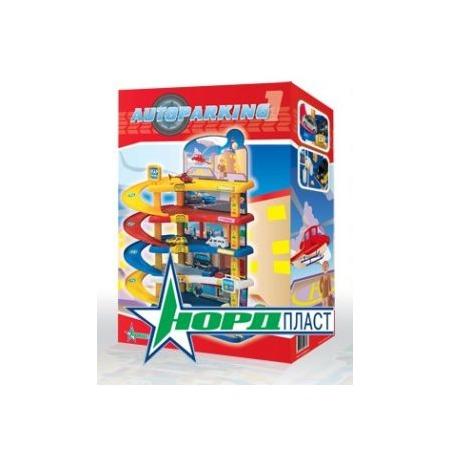 Купить Набор игровой для мальчика Нордпласт «Гараж. Автопарковка1»