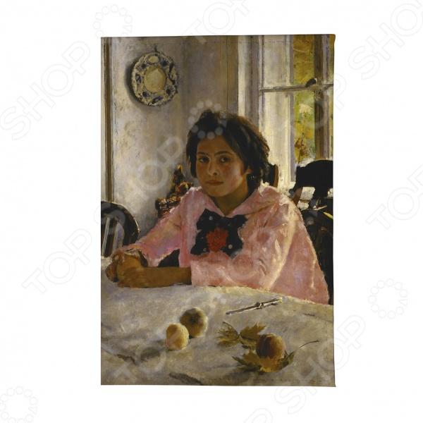 Визитница Mitya Veselkov «Девочка с персиками»