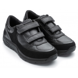 Кроссовки адаптивные женские Walkmaxx. Цвет: черный