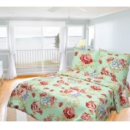фото Комплект постельного белья Олеся «Весенний гобелен». Семейный