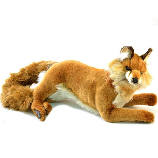 Мягкая игрушка Hansa «Лиса лежащая» мягкие игрушки hansa лиса лежащая 45 см
