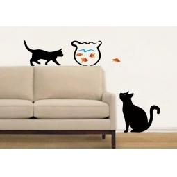фото Украшение настенное Феникс-Презент «Кот»