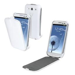 фото Чехол и пленка на экран Muvit Cremieux Snow Slim для Samsung S3