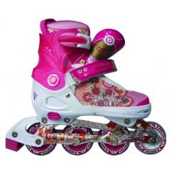 фото Роликовые коньки детские раздвижные X-MATCH Love. Размер: 33/36