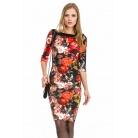 Фото Платье Mondigo 5129. Цвет: черный. Размер одежды: 46
