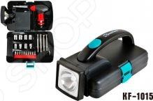 Набор инструментов с фонарем Komfort KF-1015