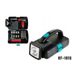 Купить Набор инструментов с фонарем Komfort KF-1015