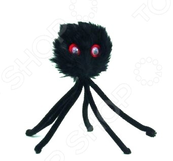 Игрушка для кошек Beeztees «Паук-дразнилка» игрушки для животных smart textile игрушка для кошек сахарная косточка 100