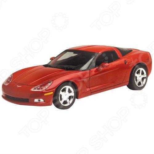 Модель автомобиля 1:24 Motormax Chevrolet Corvette C6 2005. В ассортименте