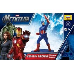 фото Сборная модель Звезда Мстители Marvel Капитан Америка