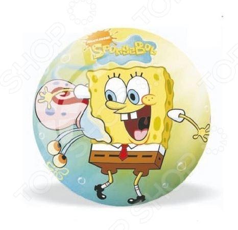 Мяч Mondo «Спанч Боб» мягкая игрушка спанч боб купить или заказать с доставкой