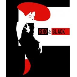 фото Тетрадь в клетку лакированная Пересвет «Красное и черное». В ассортименте
