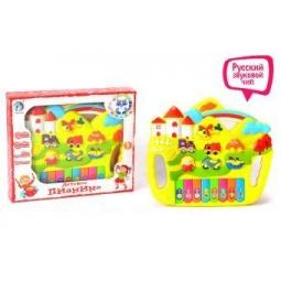 фото Орган игрушечный Shantou Gepai «Городок» 5004. В ассортименте