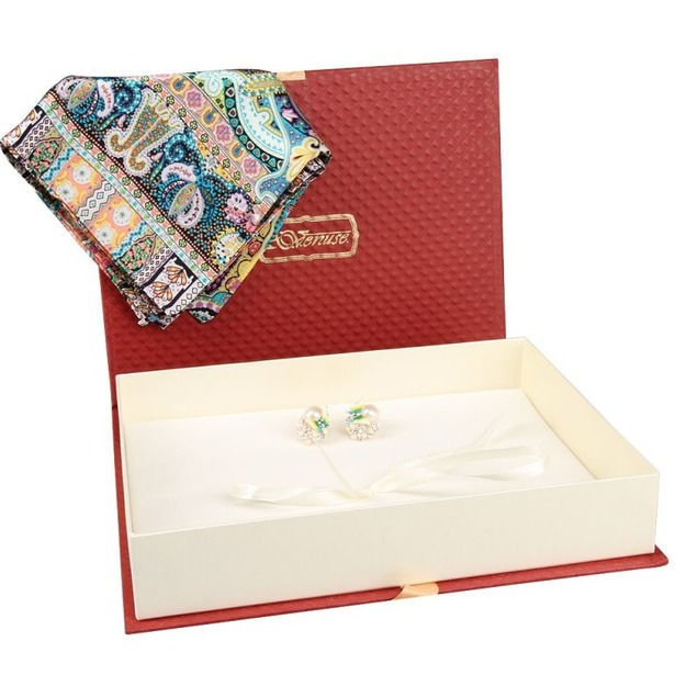 фото Набор: платок шейный и серьги Venuse 73014